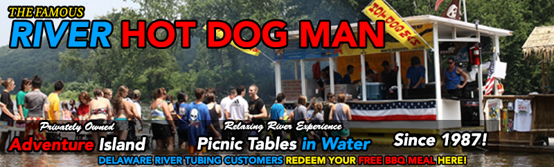 Hot Dog Man in Bucks County's River Country